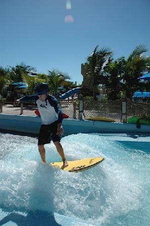 Beaches Turks & Caicos Resort Villages & Spa : Surfing USA!