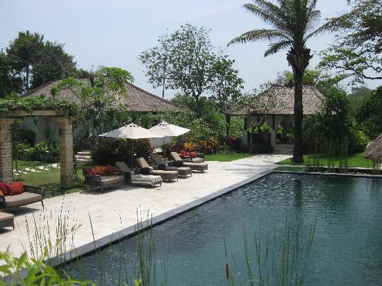 Villa Teresa : The HUGE swimming pool