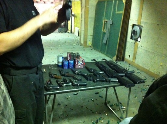 Celeritas Shooting Club: Some of the guns we fired