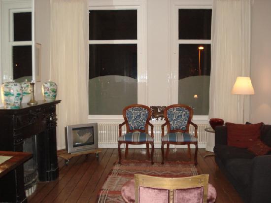 Amsterdam B&B Park9: sitting room