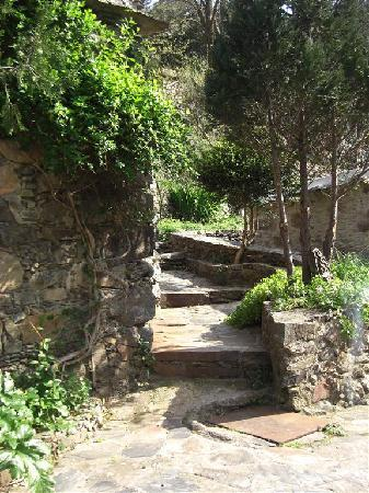 Milia Mountain Retreat: Path at Milia between the houses