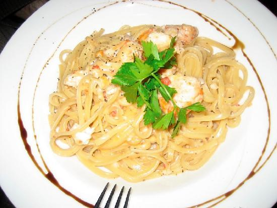 Rossopomodoro : Langoustine Pasta