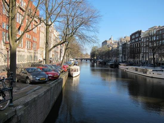 Sunhead of 1617: beautiful Amsterdam.