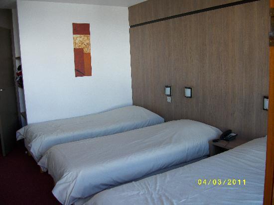 Hotel Club mmv Les Melezes : La chambre