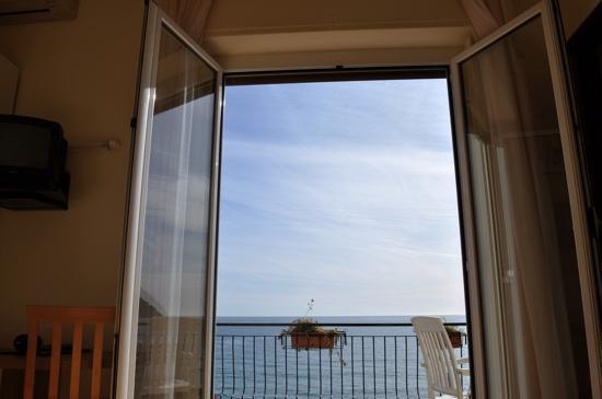 Hotel Villa Giulia: che vista dal letto!!!!!