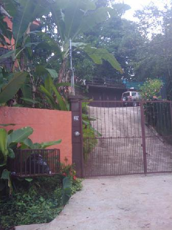 Casa Kalani: Drive way: not too steep!!