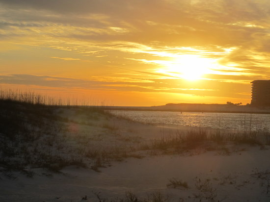 Orange Beach, AL: Sunset on the Beach