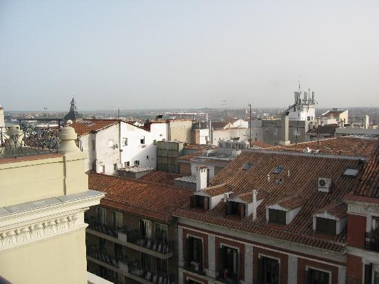 Catalonia Atocha: view from the terrase