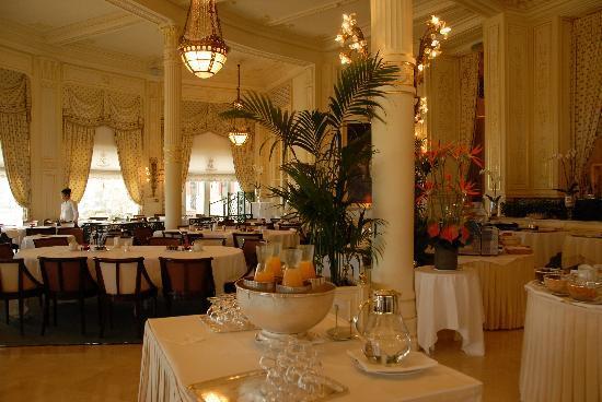 Hôtel du Palais : Petit déjeuner de la Rotonde