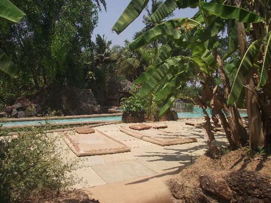 Anjuna, India: Pool