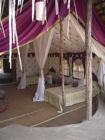 Anjuna, India: The stunning Violet tent