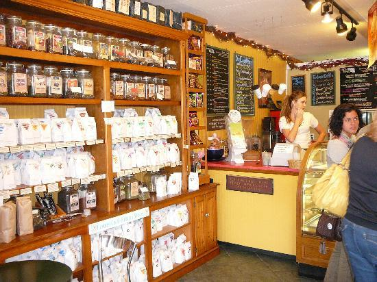 Interior of the Lewes Bake Shoppe