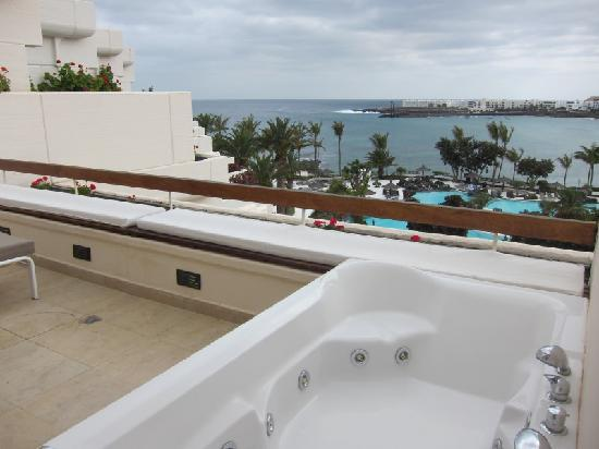 Melia Salinas - Adults recommended: balcony with jacuzzi