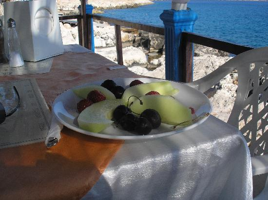 Kas Otel: Elite fruit salad
