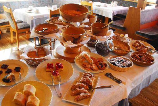 Panoramahotel Post : Breakfast buffet 1