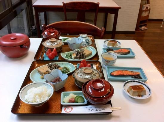 Sumiyoshiya : breakfast