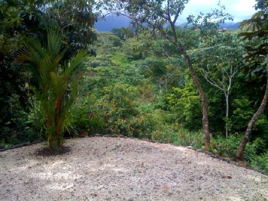 El Fuego : The terrasse