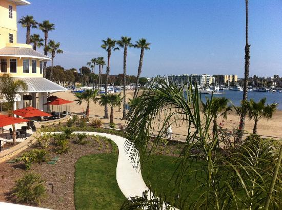 Marina del Rey, Kalifornien: View from Room 211