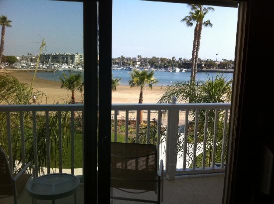 Marina del Rey, CA: Deck room 211