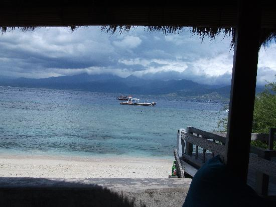 Hotel Unique: By the beach on Gili T