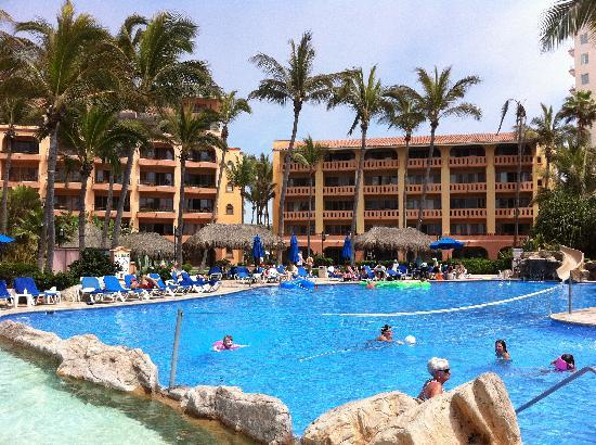 Torres Mazatlan Resort Bldgs B Right And C From Across The Pool