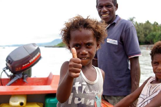 Port Vila, Vanuatu: Pele Island Kids, Vanuatu