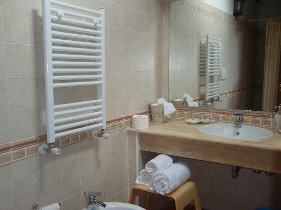 Oltre il Giardino: bagno  camera aria