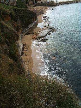 San Marco, Italy: spiaggia sotto l'albergo