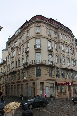 Old City Hostel Lviv: View from Svobody ave.