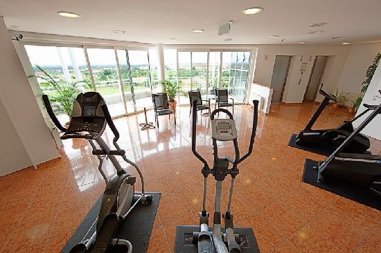 Globana Airport Hotel: Fitnessbereich