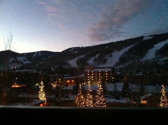 Sun Vail: Evening view from our condo