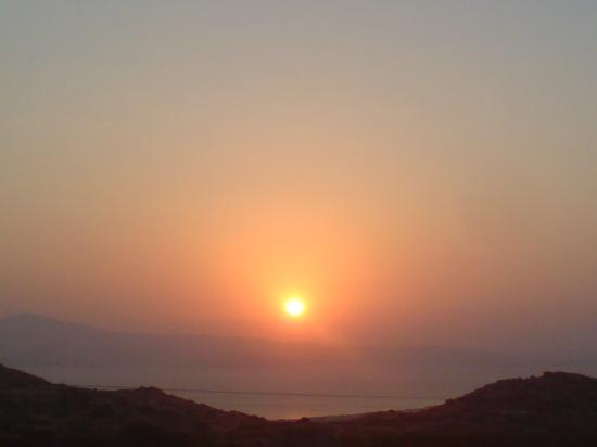 Scala Apartments and Studios : Sunset in Naxos