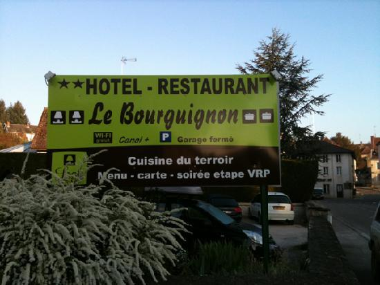 Le Bourguignon: Logo de l'hotel