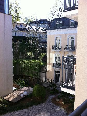 Dorint Maison Messmer: View from Balcony