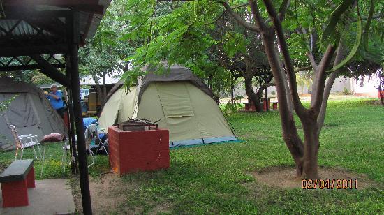 Protea Hotel Zambezi River Lodge: Campsite