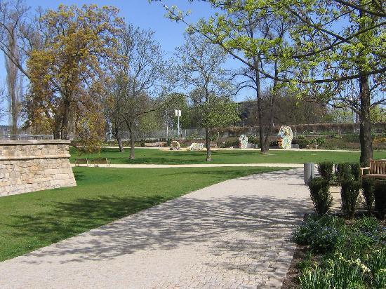Hotel Gondola Pilsen: Park