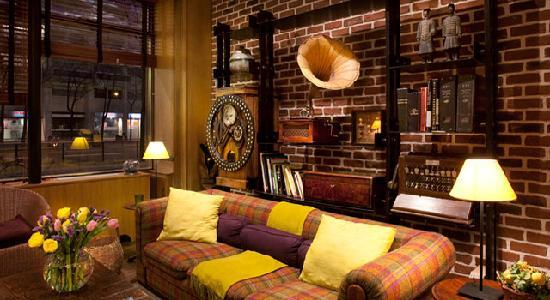 Hotel De La Paix Montparnasse: Salon de l'Hôtel de la Paix