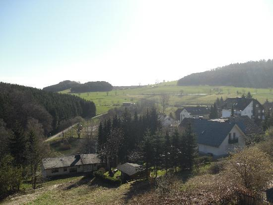 H+ Hotel Willingen: the view from our room