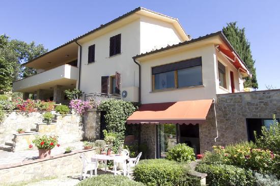 Villa Il Borraccio: Esterno Appartamento Ciclamino