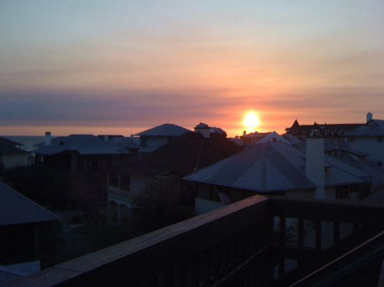 Rosemary Beach: Great sunsets