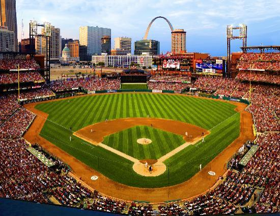 Saint Louis, MO: Busch Stadium home of the St. Louis Cardinals