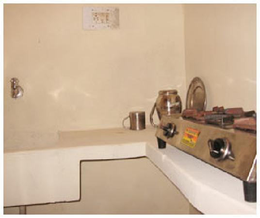 Uttam Apartments: Attached kitchen