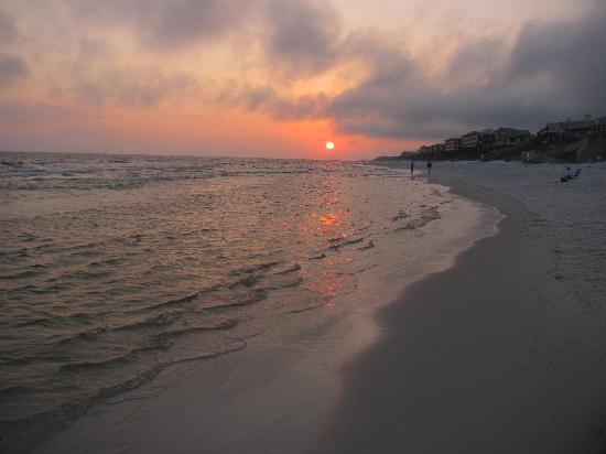 Sunset at Rosemary Beach