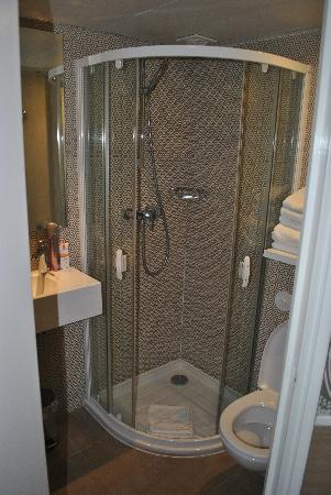 Hotel Design Sorbonne: Great shower!