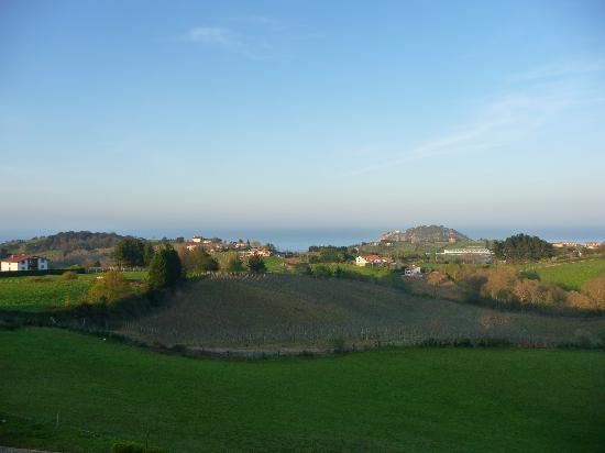 Hotel Iturregi: View from Suite Getaria