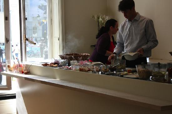 Green Kitchen: salad bar