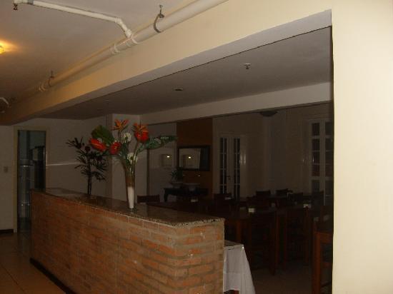 Hotel Carioca: el comedor