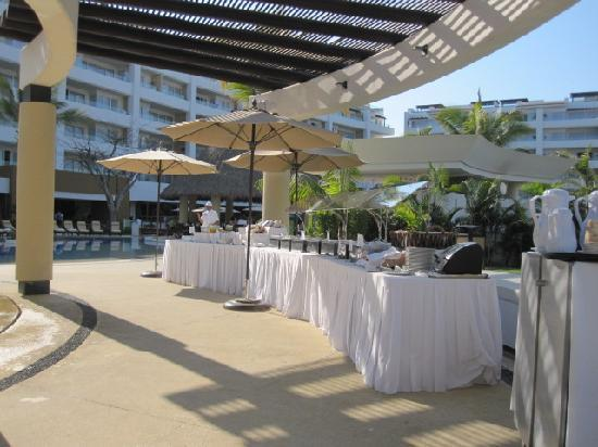 Marival Residences Luxury Resort : Breakfast buffet