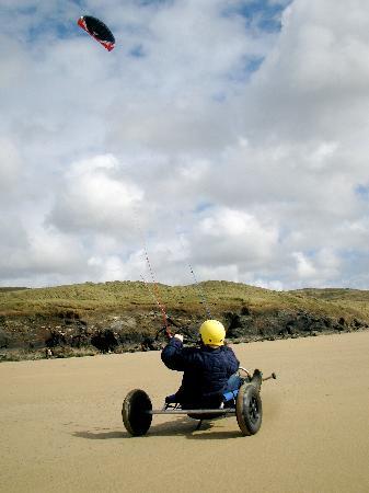 Mobius: Kite Buggying in Cornwall
