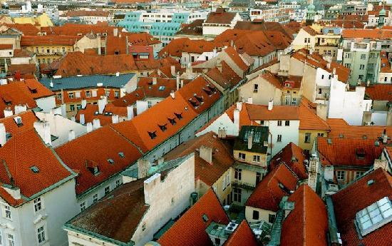 Praga, Repubblica Ceca: Rooftops of Prague